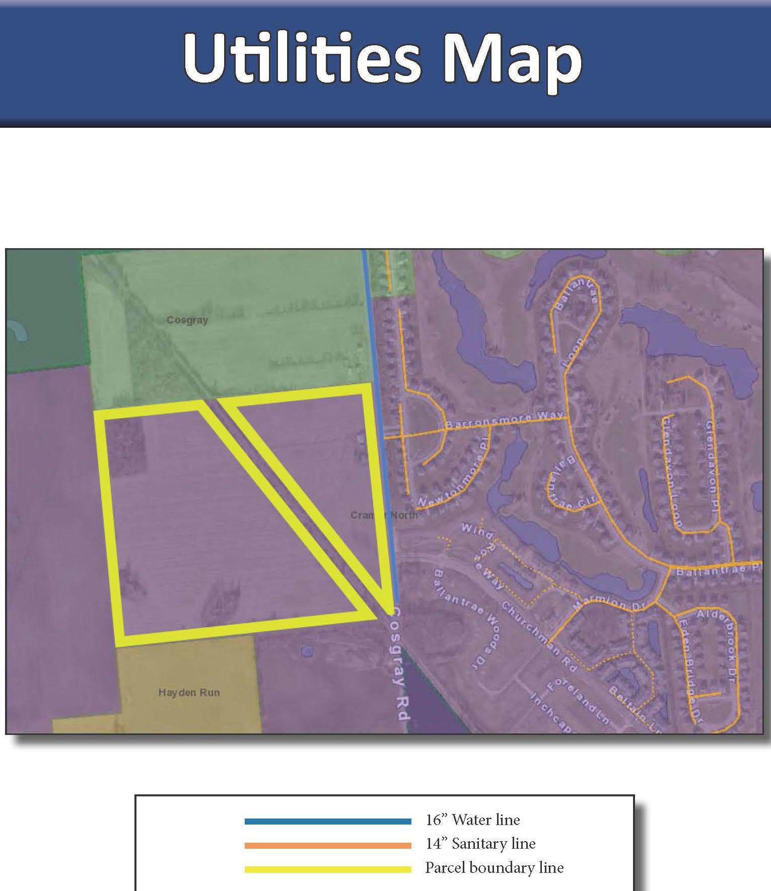 5713 Cosgray Road, Dublin, Ohio 43016, ,Land/farm,For Sale,Cosgray,218008641