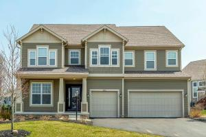 """Popular """"Ainsley"""" Model built by M/I Homes in 2014"""