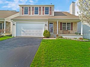156 OLENTANGY MEADOWS Drive, Lewis Center, OH 43035