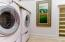 Laundry and Kitchenette