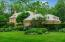 Two acres of secluded woodlands provides the setting for the 9000 sq ft Kevin Knight all brick Georgian colonial.