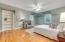 Master Bedroom with Hidden Access to Walk In Closet