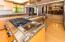 Stainless steel appliances, granite counter tops