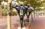 Rental bikes for neighborhood travel.