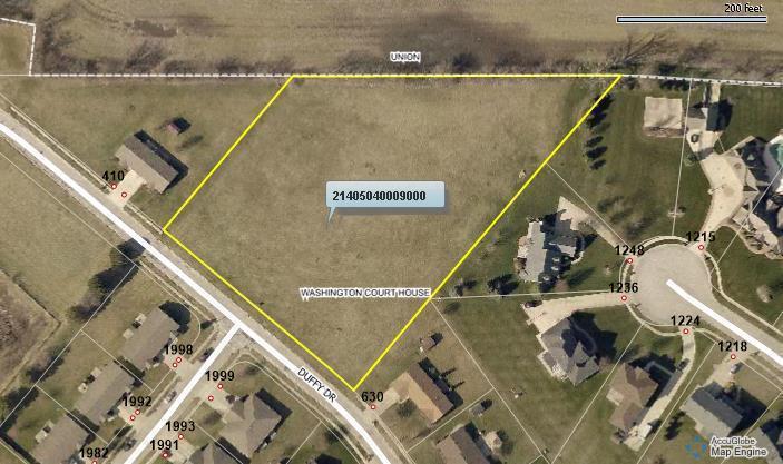 0 Duffy Drive, Washington Court House, Ohio 43160, ,Land/farm,For Sale,Duffy,218025216