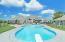 In ground pool in Hilliard, Ohio