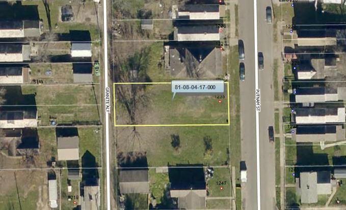 1235 Putnam Avenue, Zanesville, Ohio 43701, ,Land/farm,For Sale,Putnam,218028038