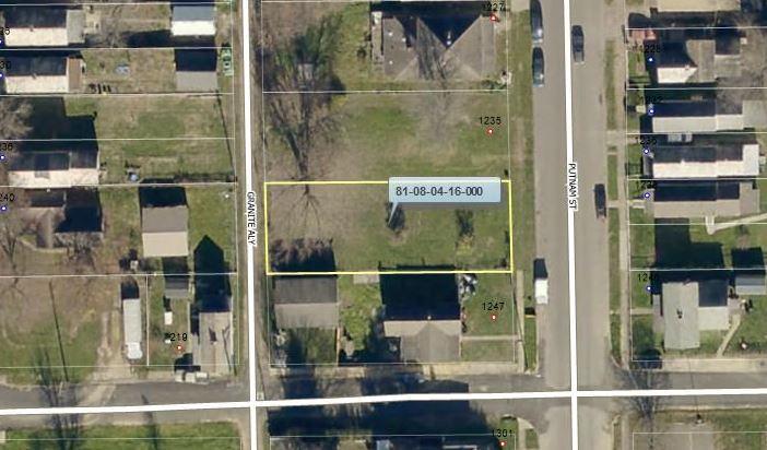 1239 Putnam Avenue, Zanesville, Ohio 43701, ,Land/farm,For Sale,Putnam,218028041