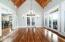 Fantastic flow throughout from dining to screen porch and/or balconcy