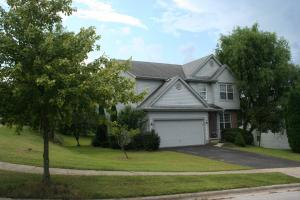 2210 sq ft. Four bedrooms, 2 full baths and powder room. Laundry room on 2nd floor!