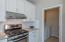 Stainless steel appliances including a gas range!