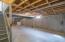 Partial basement - large enough to finish!
