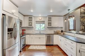 Kitchen has been totally remodeled with top-of the line features and fixtures.