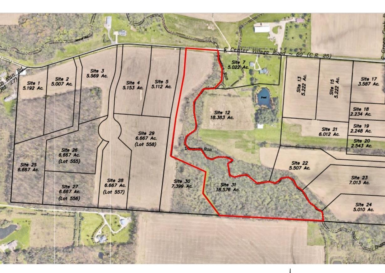 0 Center Village Road, Johnstown, Ohio 43031, ,Land/farm,For Sale,Center Village,218018326