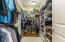 LOADS OF SPACE IN OWNER'S WALK-IN CLOSET