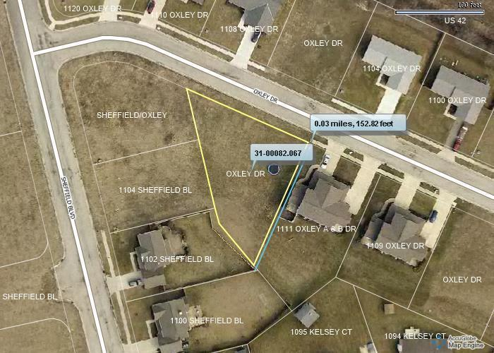 0 Oxley Drive, London, Ohio 43140, ,Land/farm,For Sale,Oxley,218038596
