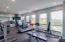 in unit fitness room