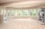 • Tan carpet • Tan painted walls • Can lighting • Atrium door to patio