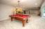 • Tan carpet • Tan painted walls • Pool table is negotiable • Pool light remains