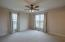 Spacious master suite with ensuite bath and walk-in closet!