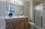 Ensuite bath with upgraded vanity!