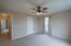 Bedroom # 2 features walk-in closet, ensuite bath and ceiling fan/light combo!