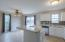 Ample amounts of space to entertain with breakfast bar and separate dining area.