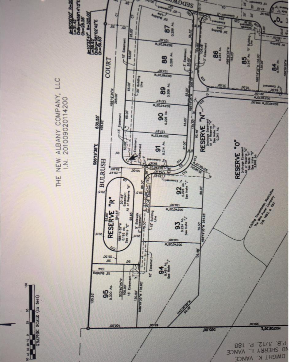 0 Bulrush Court, New Albany, Ohio 43054, ,Land/farm,For Sale,Bulrush,218042918