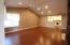 Updated flooring and paint in this spacious Living/Dining Area