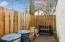 Fenced Outdoor Storage Area