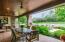 Covered Veranda with Brick over Concrete