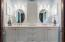Carrara Marble Counter Top - Plenty of Cabinets & Drawer Space! 2 Accent Windows