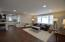 Family room opens to the kitchen for convenience and modern living.