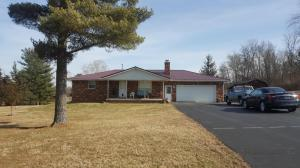 Solid brick ranch on 3 acres with stocked pond