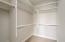 Owner's huge walk-in closet