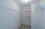 Large walk-in closet!