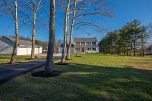 Welcome home to this beautiful 4 bedroom, 2.5 bath home that sits on a beautiful 5 acre lot complete with a 2 car attached and 4 car detached garage.