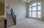 2 story great room with floor to ceiling windows!