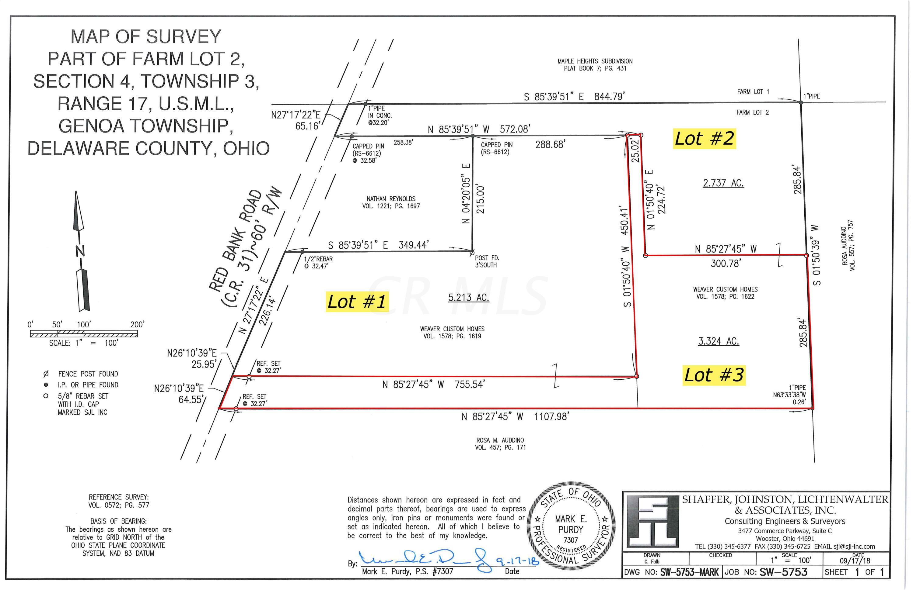 5387 Red Bank Road, Galena, Ohio 43021, ,Land/farm,For Sale,Red Bank,219016512