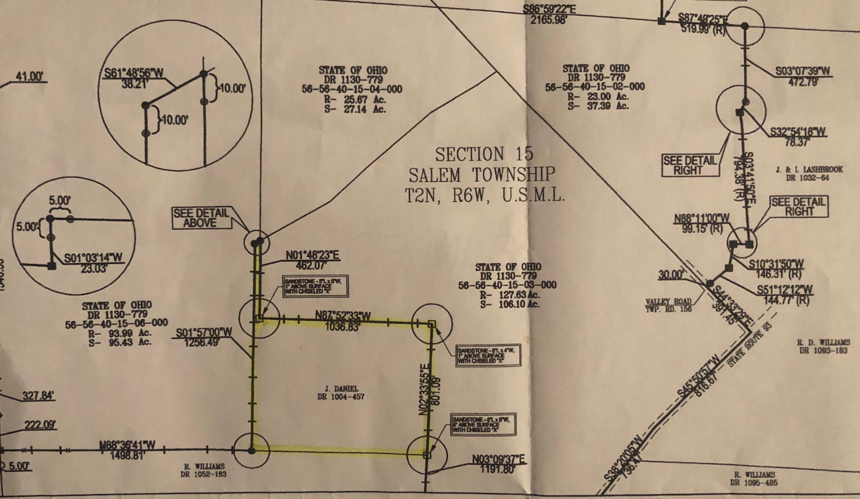 0 OH-93, Adamsville, Ohio 43802, ,Land/farm,For Sale,OH-93,219022997