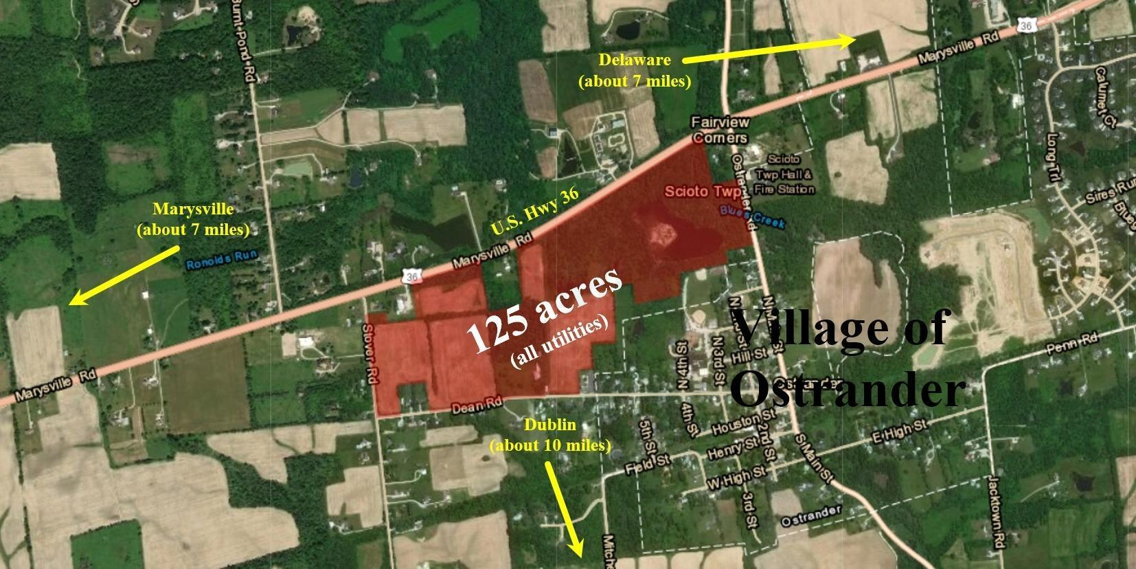 0 US Highway 36 Road, Ostrander, Ohio 43061, ,Land/farm,For Sale,US Highway 36,219025027