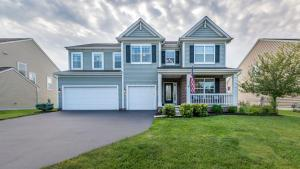 Great curb appeal. Nicely landscaped. Freshly sealed driveway