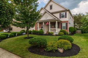 Beautiful Landscaping and Exterior/Trim and Paint.