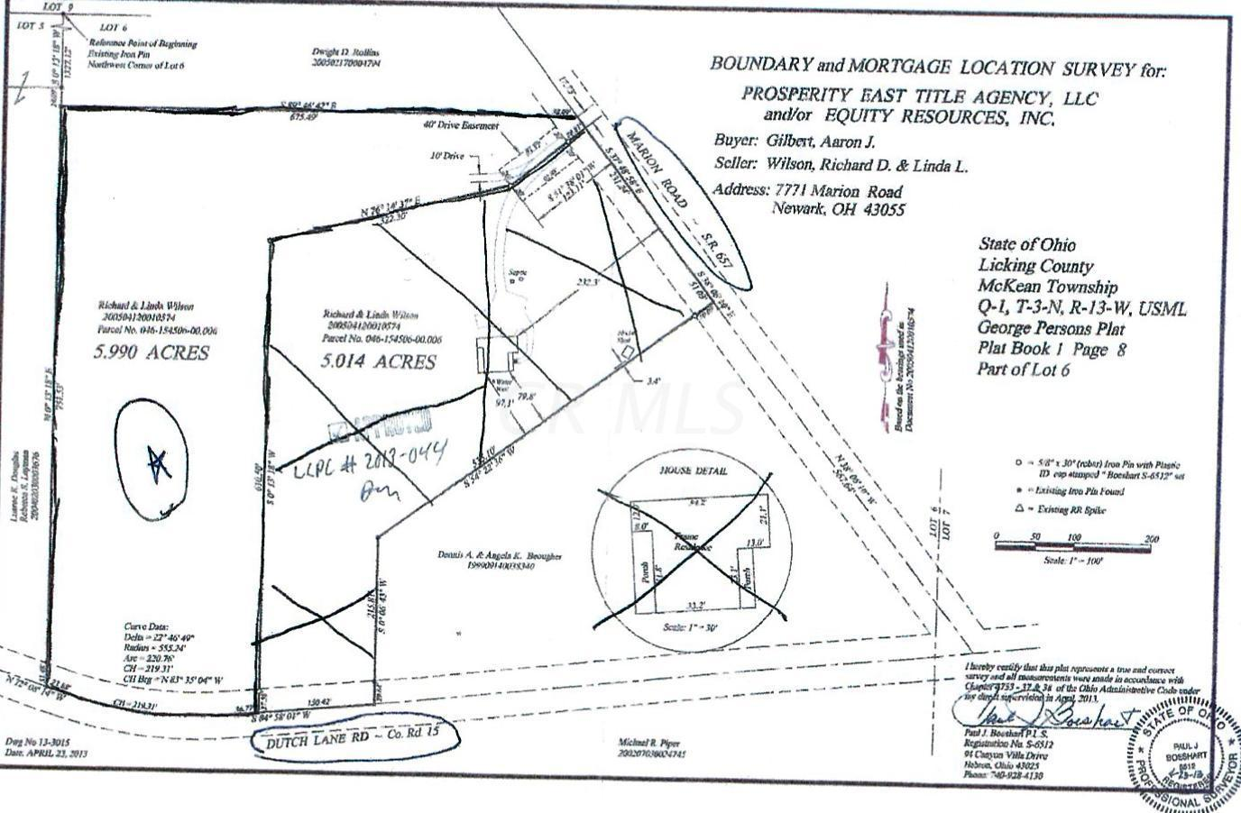 0 Marion Road, Newark, Ohio 43055, ,Land/farm,For Sale,Marion,219031252