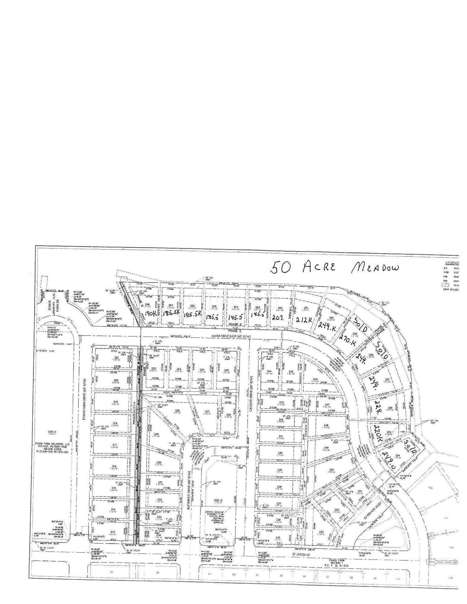 Lot 257 Maple Drive, Lewis Center, Ohio 43035, ,Land/farm,For Sale,Maple,219035046