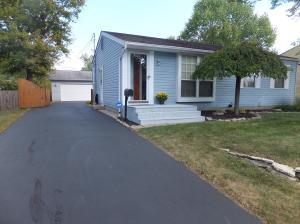 Outstanding three bedroom two full bath home with a detached oversized 2 car garage.