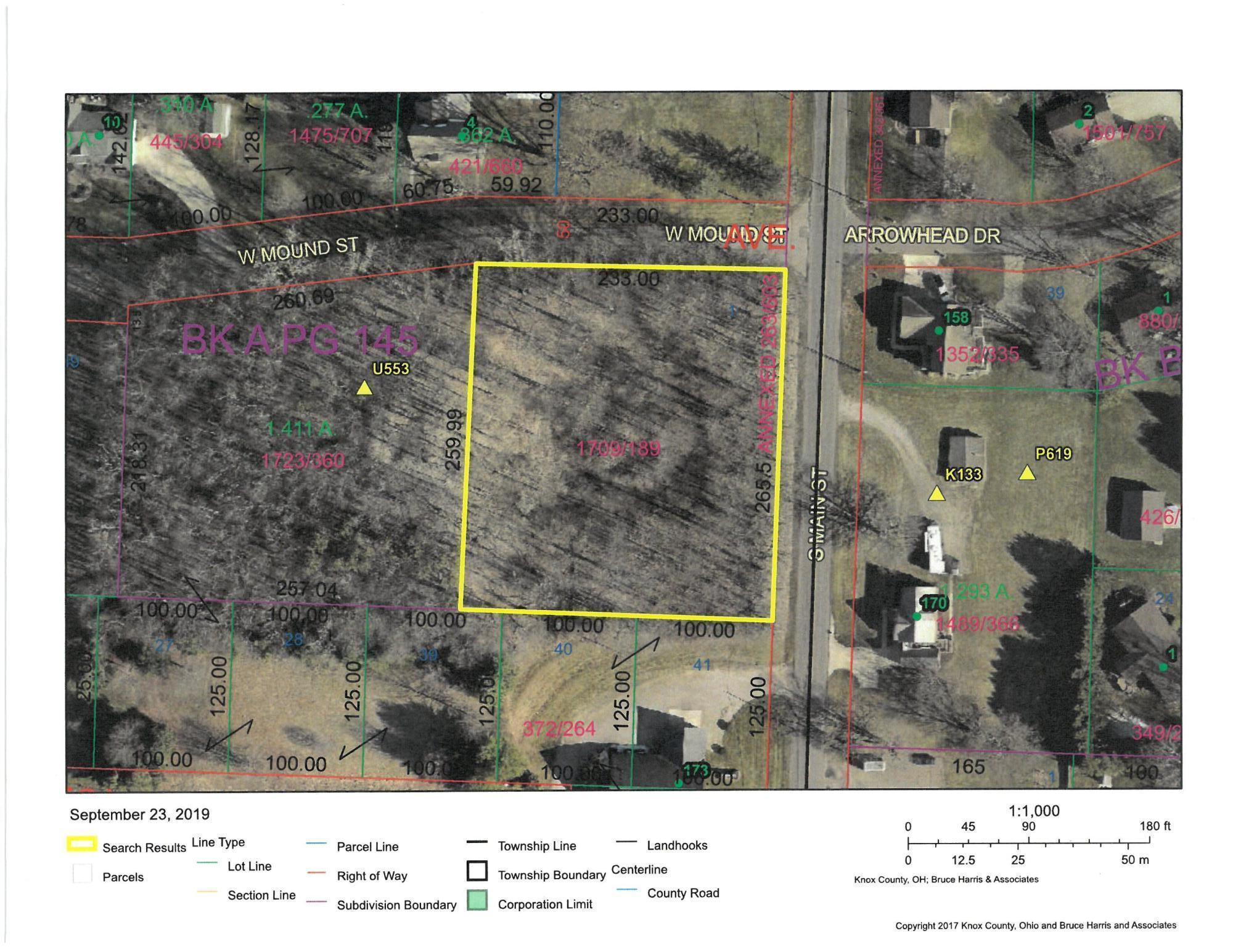 0 Main Street, Fredericktown, Ohio 43019, ,Land/farm,For Sale,Main,219036540