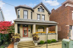 Check out this Absolutely Stunning All-Brick & Stucco Home in the Heart of German Village! This Beautiful Home Features the Charm & Character of an Older Home w/the Modern-day Conveniences of a New-Build. A Foyer welcomes you upon Entry and leads you to the Spacious Living & Dining Rooms w/Original Wood Details & Exposed Brick. The Updated Kitchen Boasts Oversized White Cabinetry, Commercial-Grade SS-Appliances & Loads of Natural Light. The Master Suite w/En-Suite Bathroom is Upstairs along w/2 Additional Bedrooms & the 3rd Flr Attic Offers an Opportunity for Additional Living Space! Brand-New 2-Car Garage, Landscaping & Painting! Located Just One Block from Schiller Park & all of German Village's Best Bars & Restaurants. You Do NOT Want to Miss this One!
