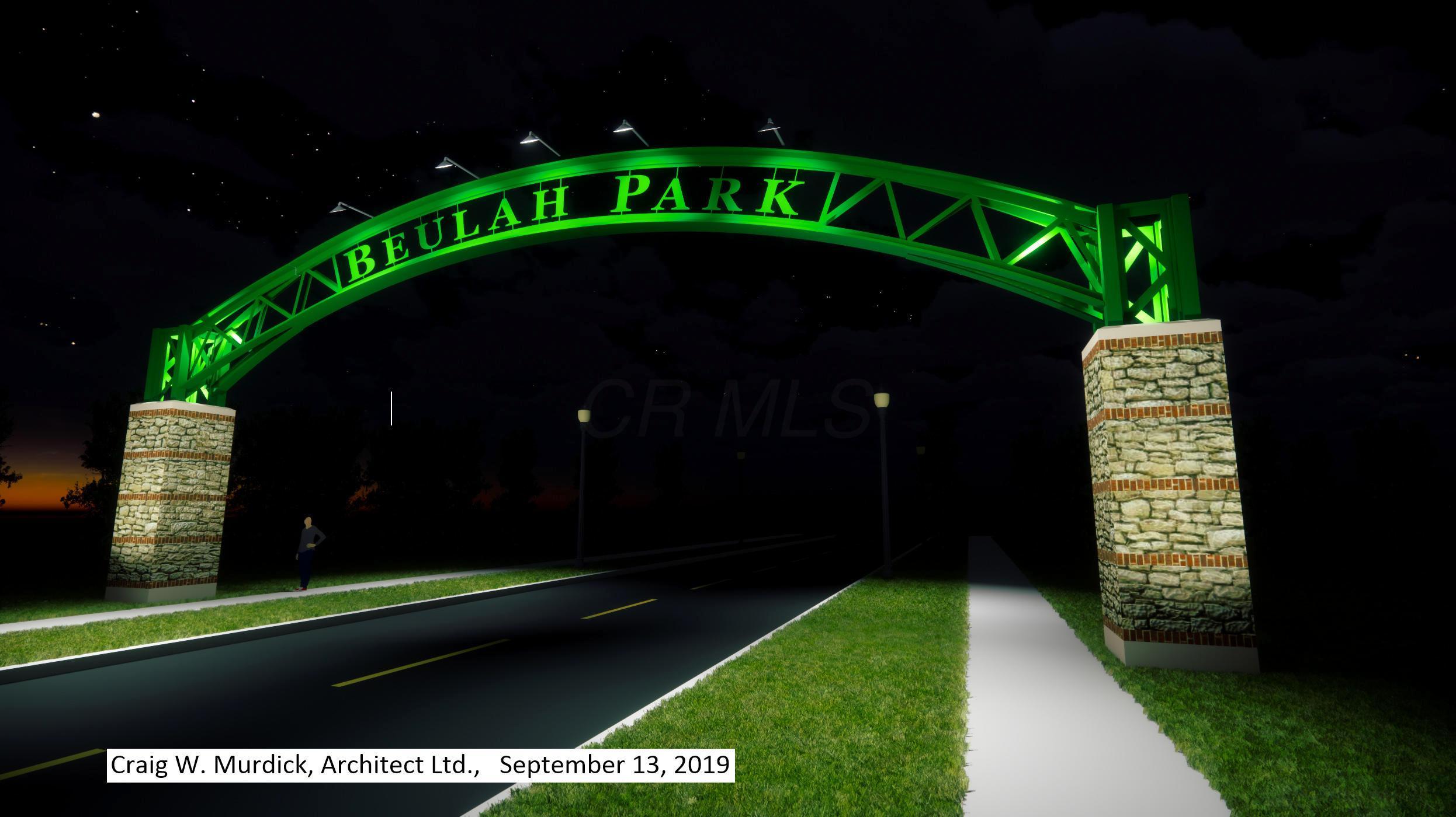 Beulah Park_Columbus Street Connector Ar