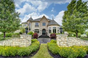 Incredible 5 Bedroom Executive Home Situated on 1.5 Acre lot in the Gated Community of River Run Estates. A Private Sanctuary just minutes from the city. Built by R&H in 2013 with the highest quality materials and finishes.  Over 8,000+ Sq. ft. on 3 levels. Gourmet Kitchen includes: Wolf/Sub Zero/Steam Oven/Custom Cabinetry/ Separate Bar w/ Built-In Ice Machine. Perfect for Entertaining. The Hearth room with one of 7 Fireplaces leads out to covered Patio overlooking the Pool and private Fenced Yard.   Multiple Entertaining Spaces include: Bar, Wine Room, Billiard Room, Indoor Driving Range, Movie Theater and Home Gym.  Luxurious 1st floor Owner Suite w/ Spa like bath. Located off Olentangy River Rd, south of Powell Rd.Only minutes from I-270. Easy Commute to anywhere in Central Ohio.